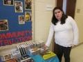 food bank and book fair set up 004