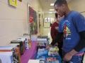 food bank and book fair set up 006