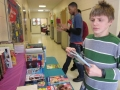 food bank and book fair set up 010